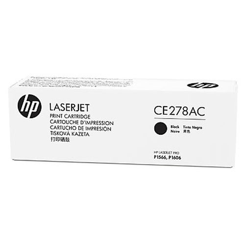 HP 78A Black LaserJet Toner Cartridge (CE278AC)