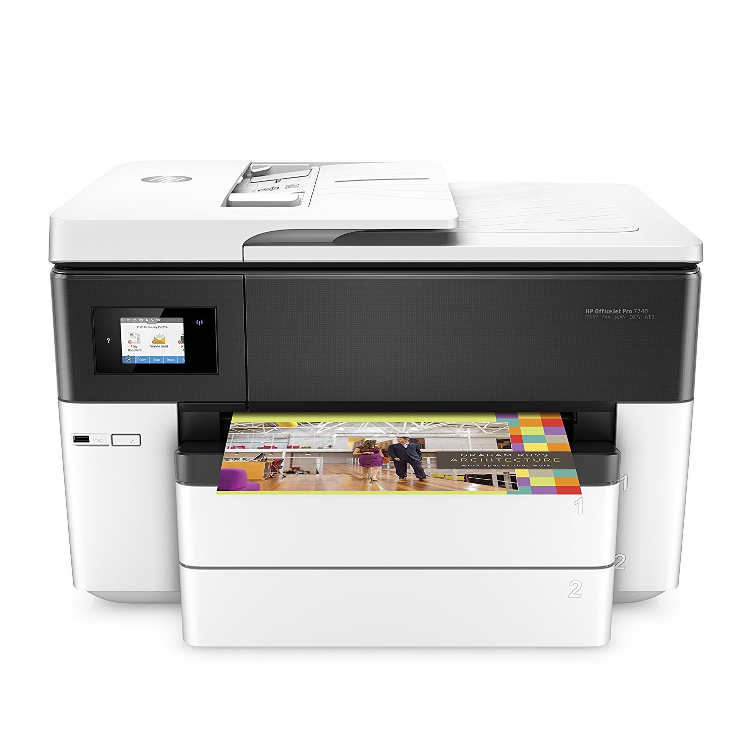 HP OfficeJet Pro 7740 WF AiO Printer (G5J38A)