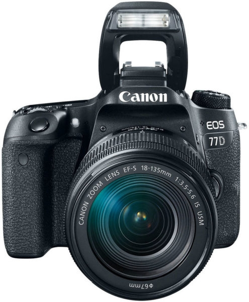 Canon EOS 77D + 18-135IS USM