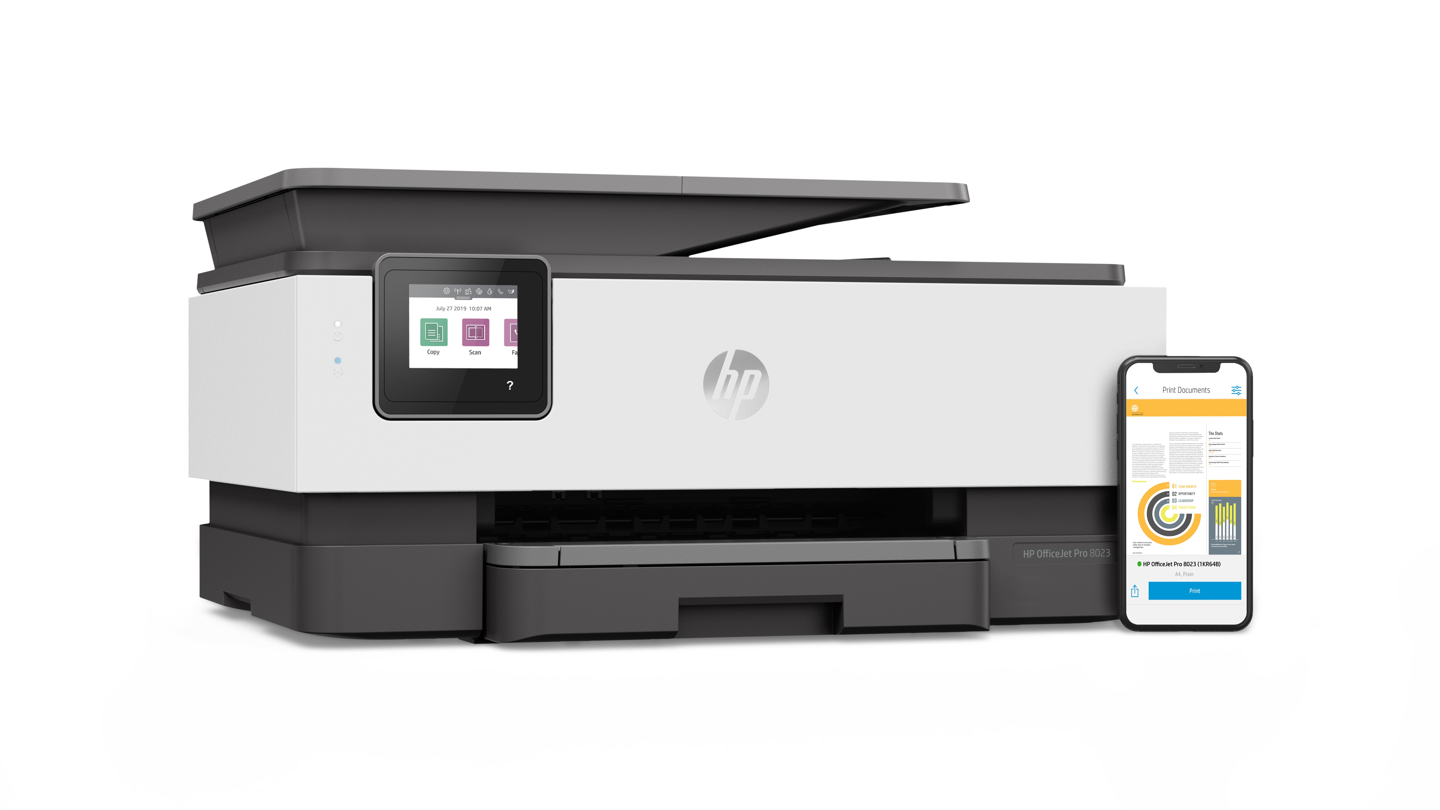 HP Officejet Pro 9013 AiO Printer (1KR49B)