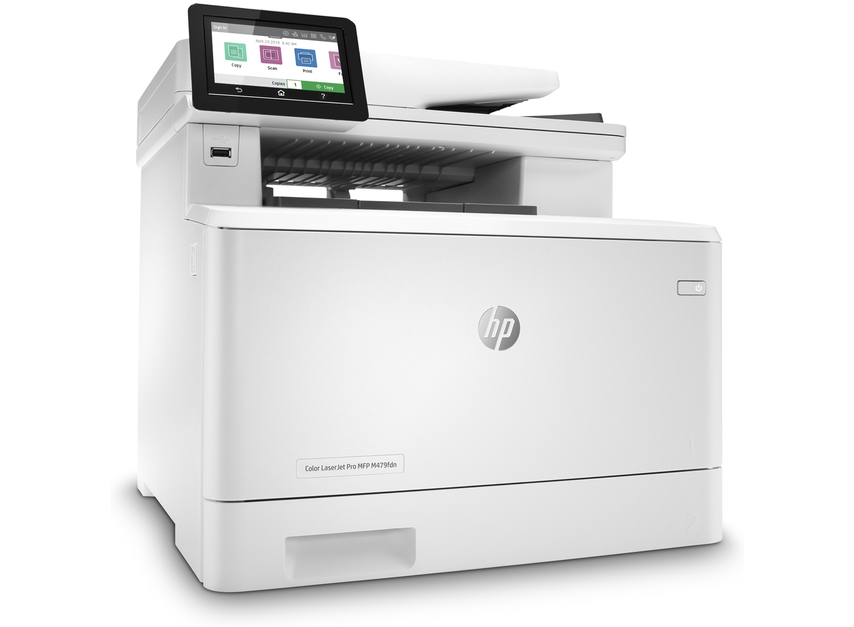 HP Color LaserJet MFP M479fdn Printer (W1A79A)
